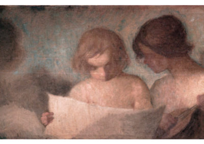 Amour musicien. Villa San Carlos, Pau, 1910 ou 1911