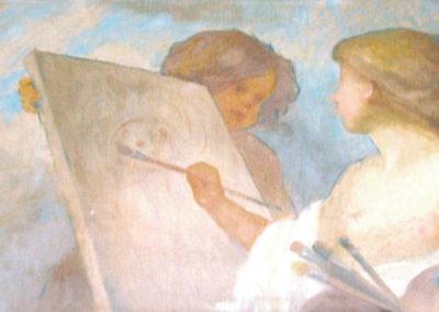 Amour peintre. Villa San Carlos, Pau, 1910 ou 1911