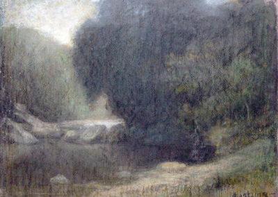 Bords de l'Ousse, 1910