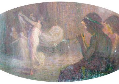 Danse. Anc. Villa Montpensier, Pau, 1908