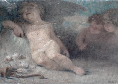 Eros endormi. Villa Saint-Yves, Pau, 1906