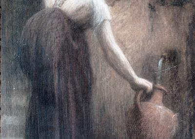 Femme à la fontaine, 1908