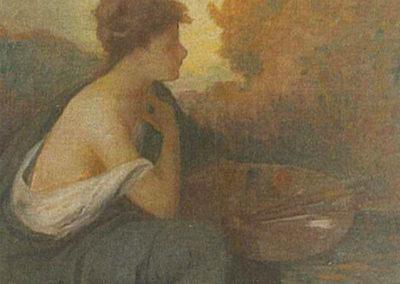 La Peinture. Villa L'Hermitage, Pau, 1900