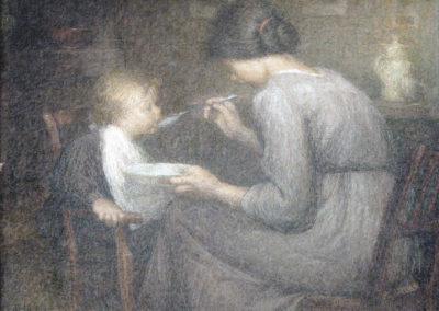 La becquée, 1912