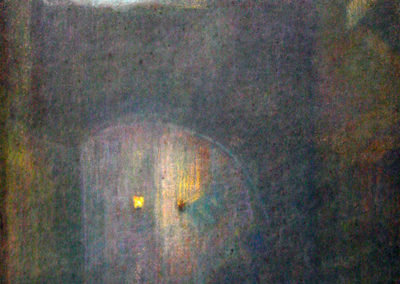 La côte du Moulin la nuit, 1905