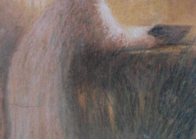 La femme au paon, 1912