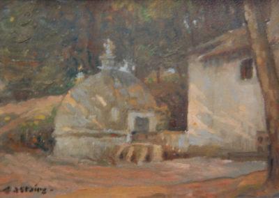 La fontaine d'Arudy, v.1900