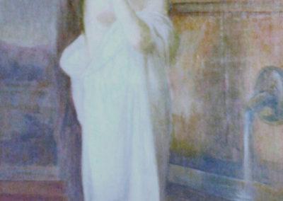 La fontaine. Villa Etchechurria, Pau, 1909