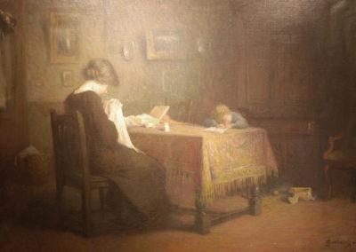 La veillée, 1913