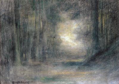 L'allée du bois, 1905