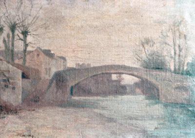 Le pont, 1898