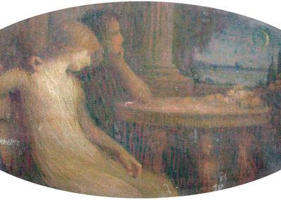 Le sommeil de Canope. Anc. Villa Montpensier, Pau, 1908