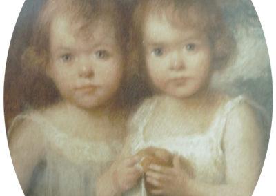 Les jumelles Geliot - 1916