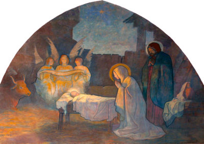 Nativité. Eglise d'Assat, 1903