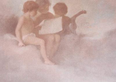 Trois amours musiciens. Villa Etchechurria, Pau, 1909