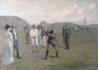 Une partie de golf, 1885-95